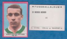 Werder Bremen Horst-Dieter Hottges West Germany 35